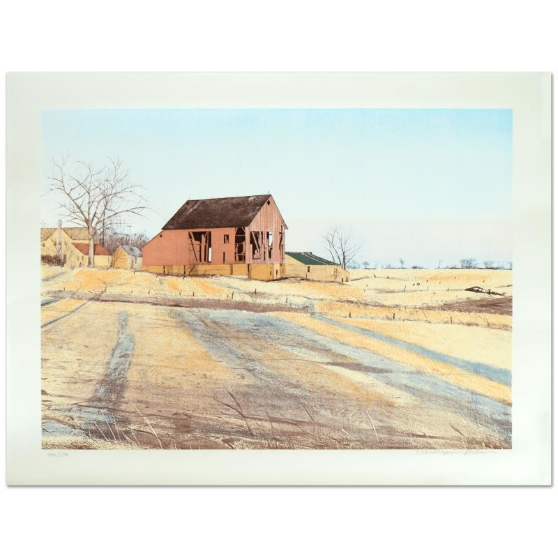 """William Nelson Limited Edition Serigraph """"Shadows"""""""