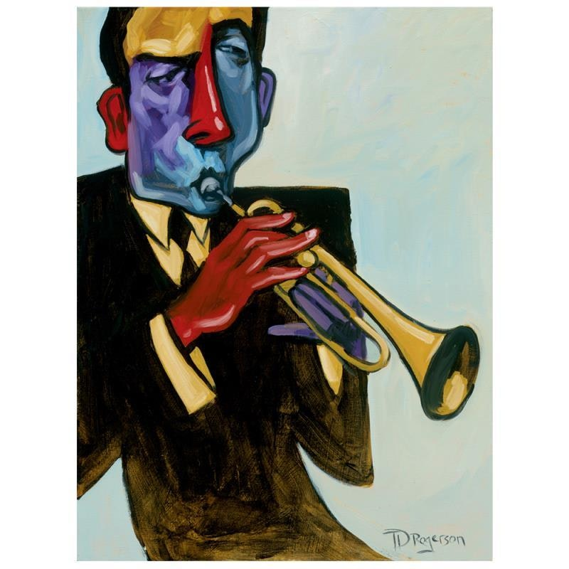 """Tim Rogerson Limited Edition Giclee """"Blowin in the Wind"""""""