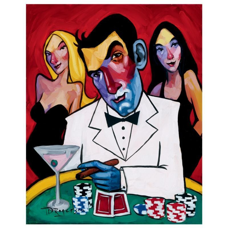 """Tim Rogerson Limited Edition Giclee """"High Roller"""""""