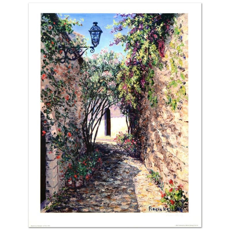 """Nell Rocio Limited Edition Lithograph """"Mysterious Passage"""""""