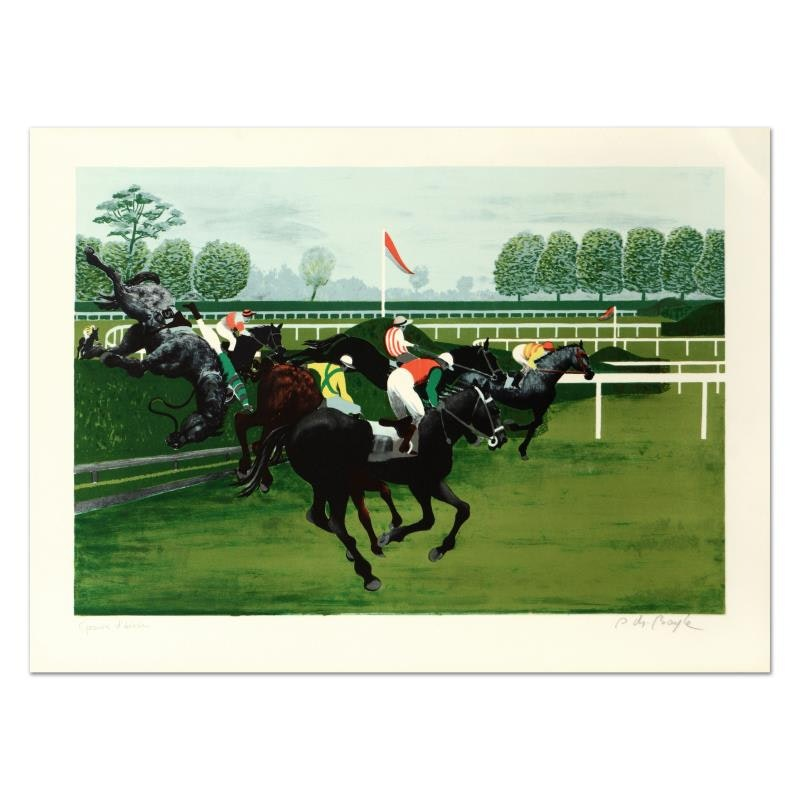 """Boyle Limited Edition Lithograph """"The Hedge"""""""