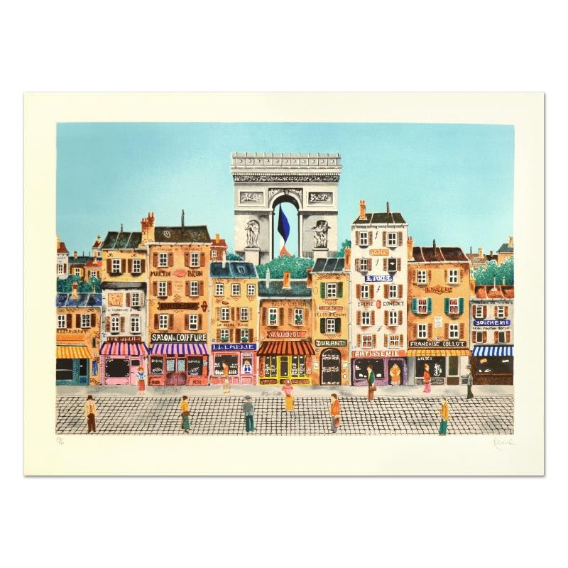 """Heine Limited Edition Lithograph """"Etoile"""""""