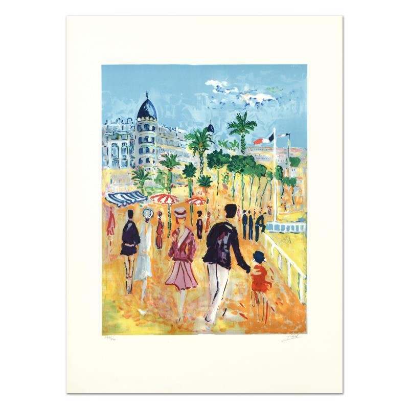 """Jean Claude Picot Limited Edition Lithograph """"Nice"""""""