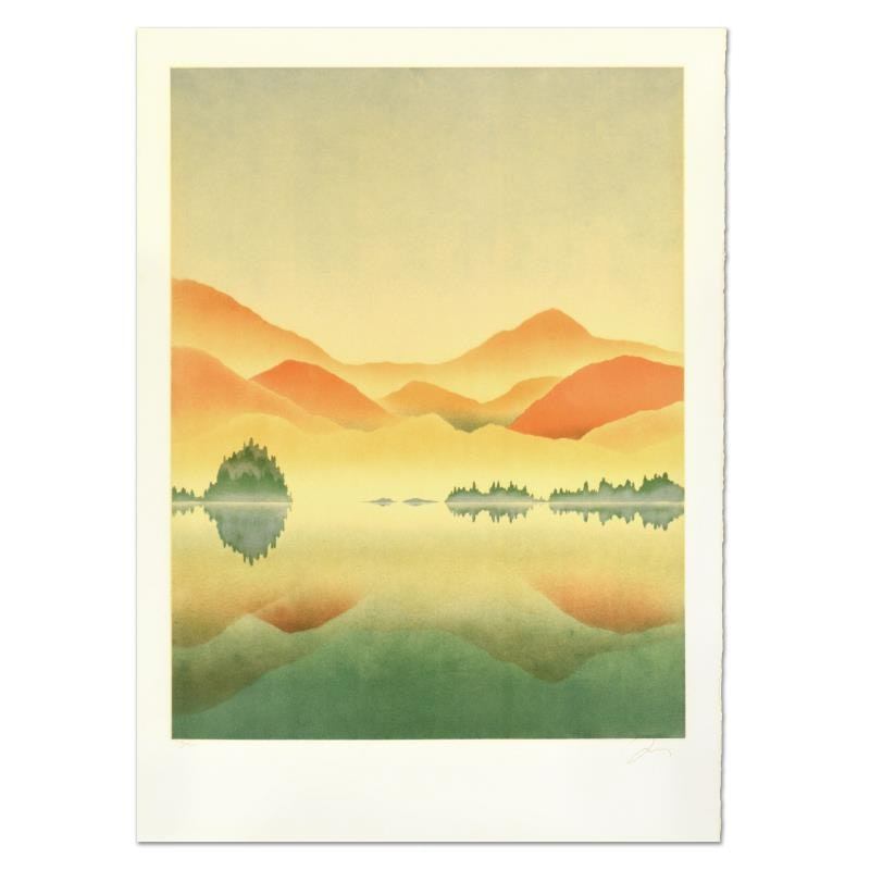 """Rand Limited Edition Lithograph """"Sunrise"""""""