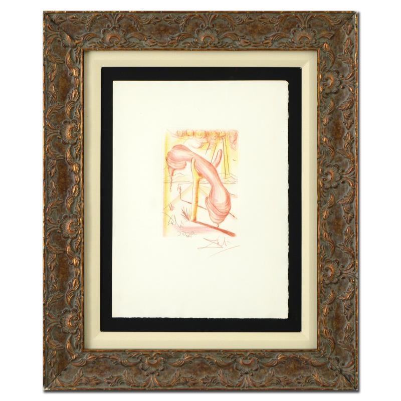 Collectors Guild Restrike Dali Engraving
