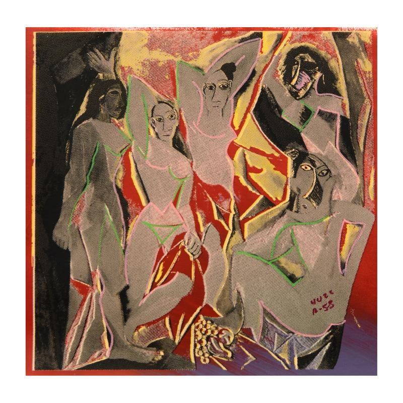 "Ringo Mixed Media Print ""Les Demoiselles d'Avignon"""