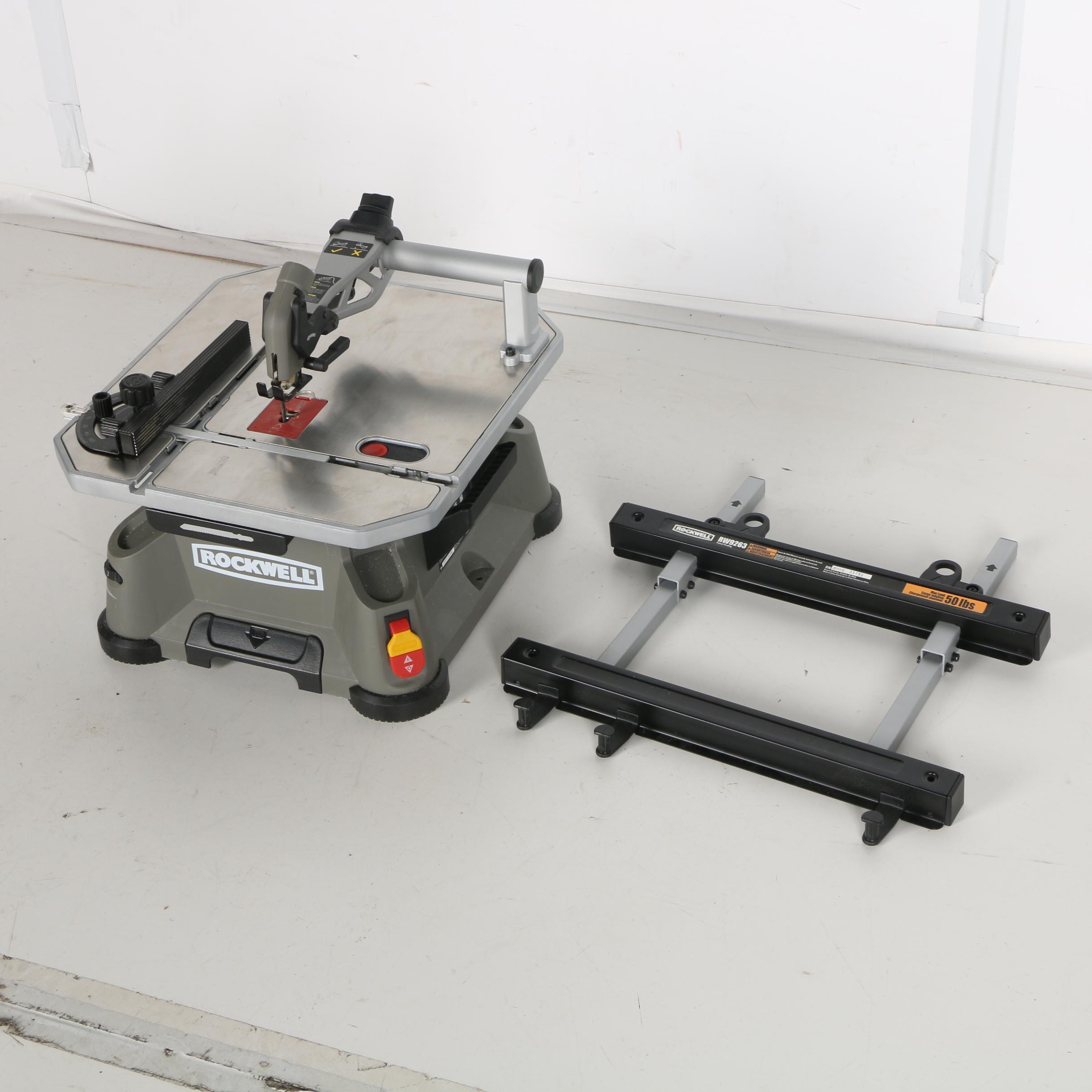 Rockwell BladeRunner Table Saw RK7320 With Wall Mount