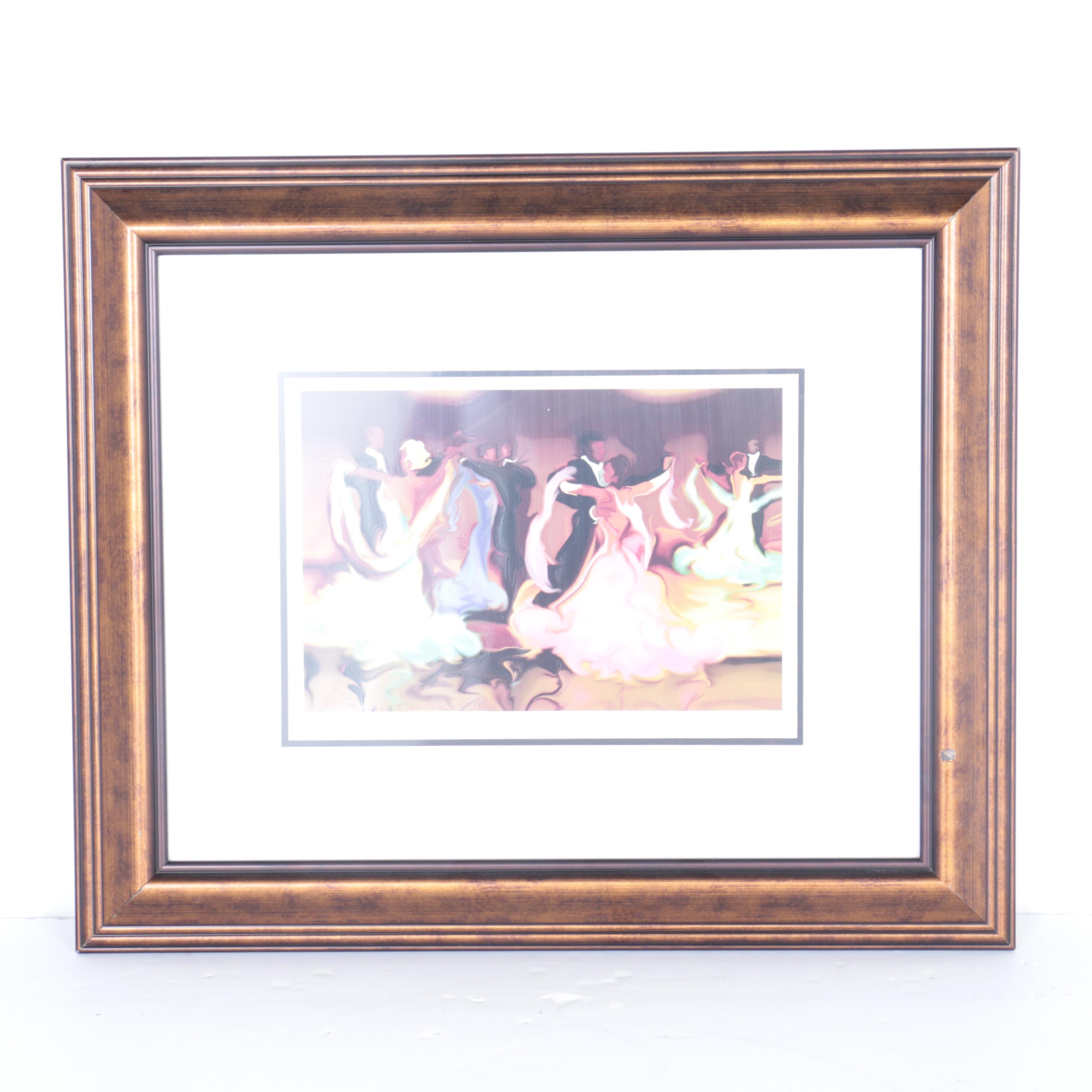 "Steve Bloom Limited Edition Serigraph on Paper ""Ballroom"""