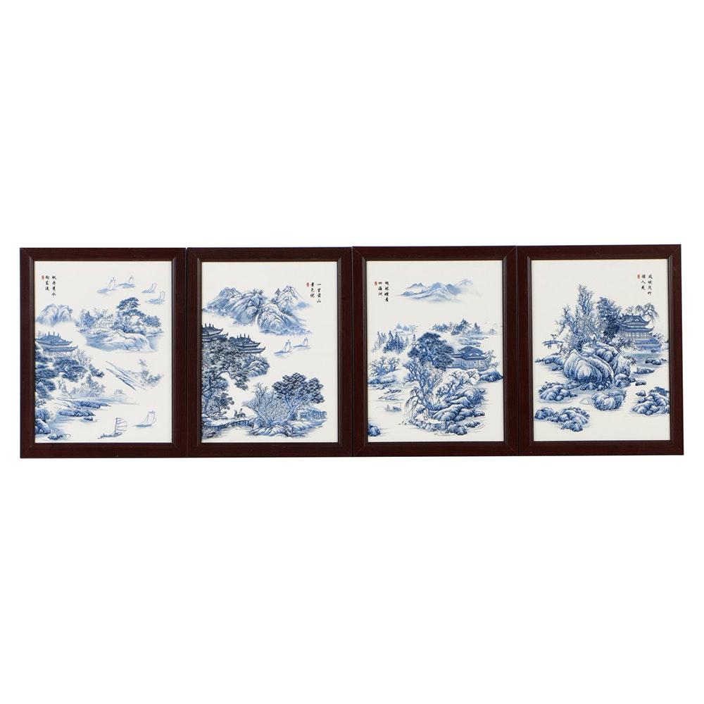 Chinese Ceramic Transfer Tiles