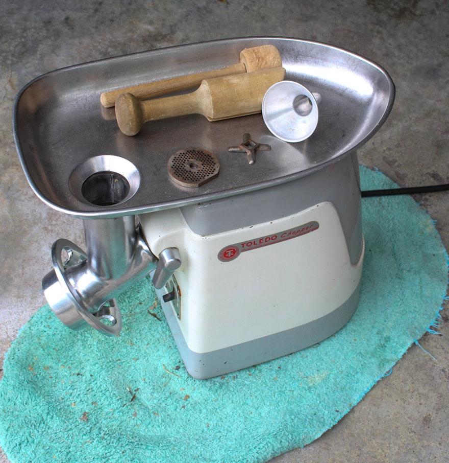 Antique Electric Grinder ~ Vintage toledo chopper electric meat grinder ebth