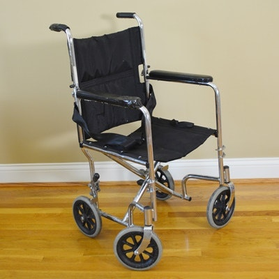 Medline Foldable Transport Chair