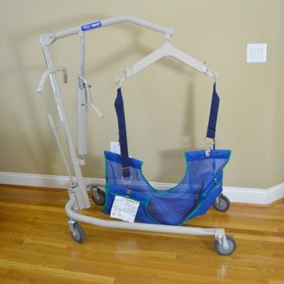 Invacare Hydraulic Patient Lift #9805P