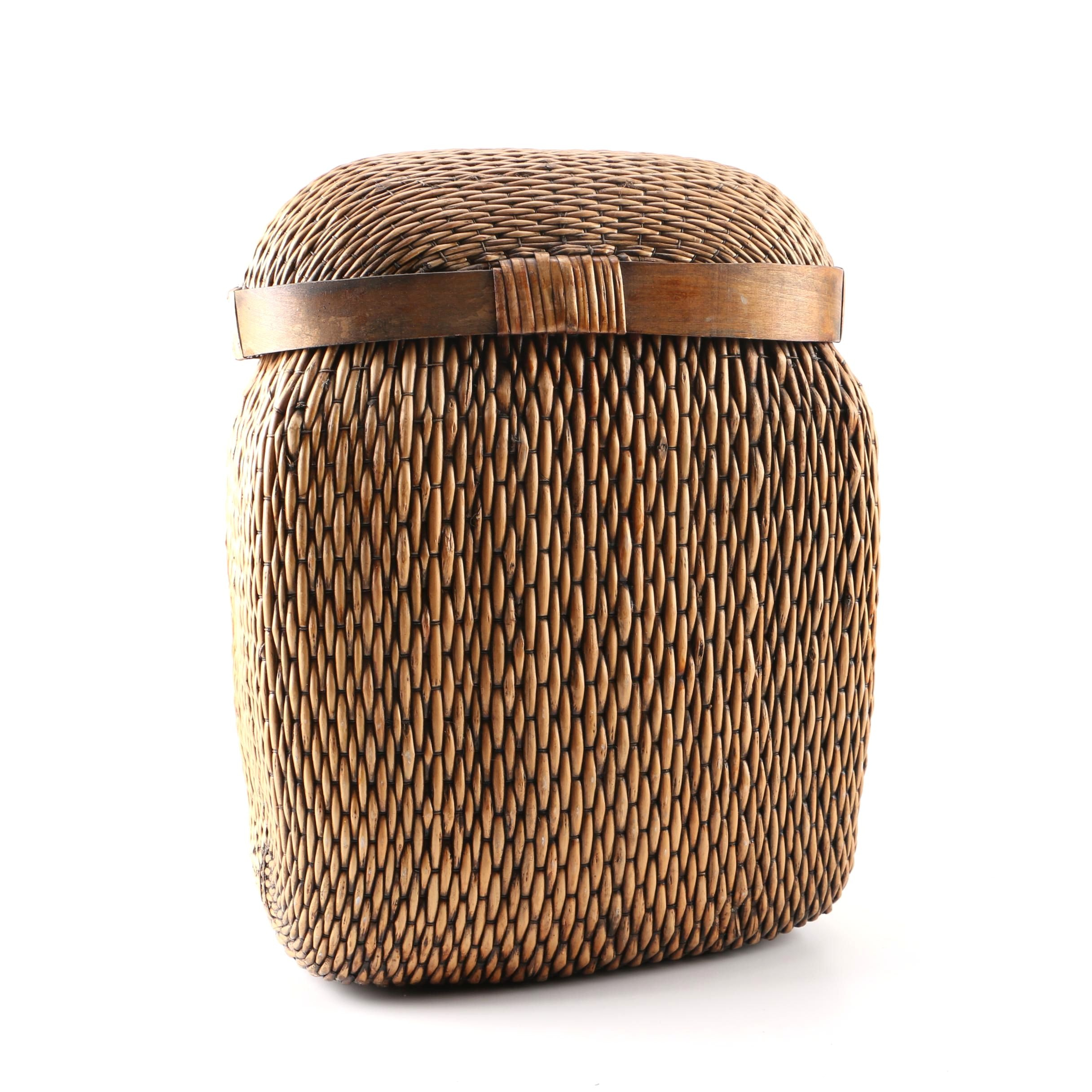 Decorative Rattan Storage Box