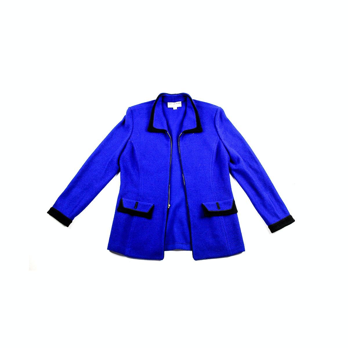 St. John Collection Blue Jacket
