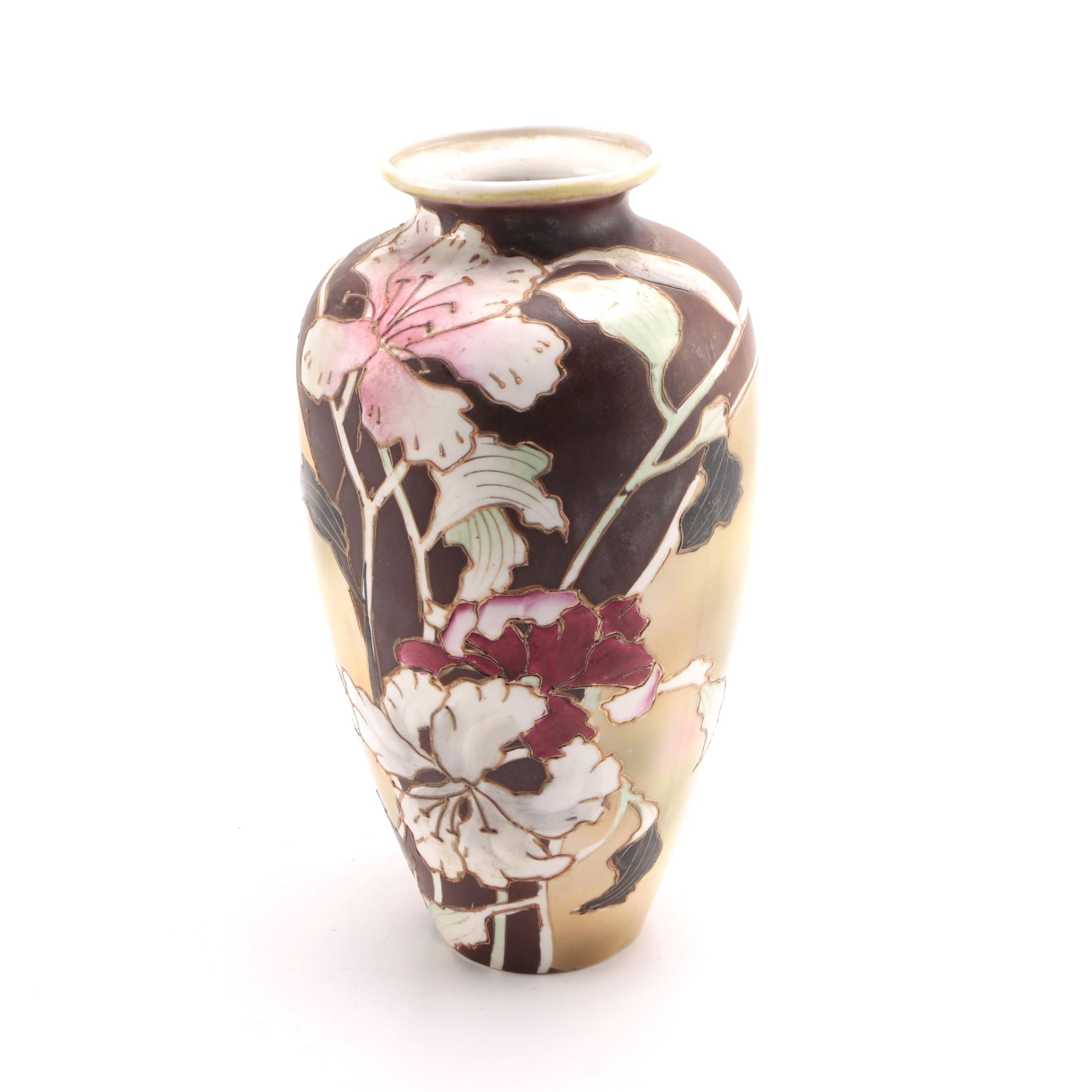 Royal Nippon Hand-Painted Vase