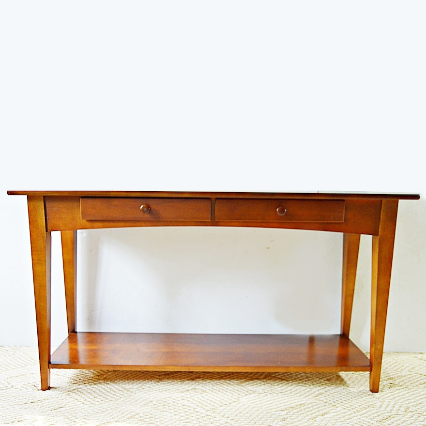 huge discount d2785 d02f9 Shaker Style Cherry Console Table