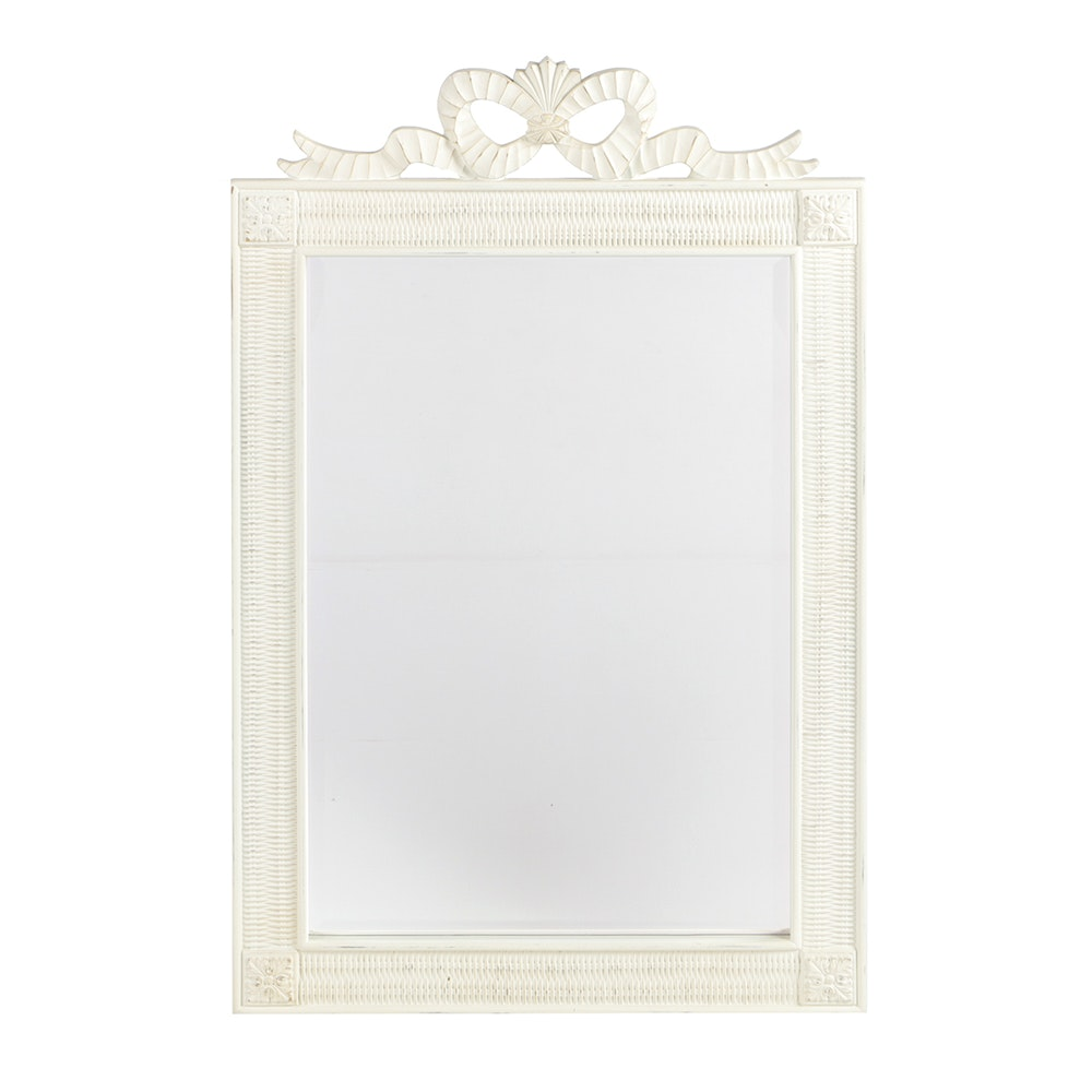 White Framed Wall Mirror white framed wall mirror : ebth