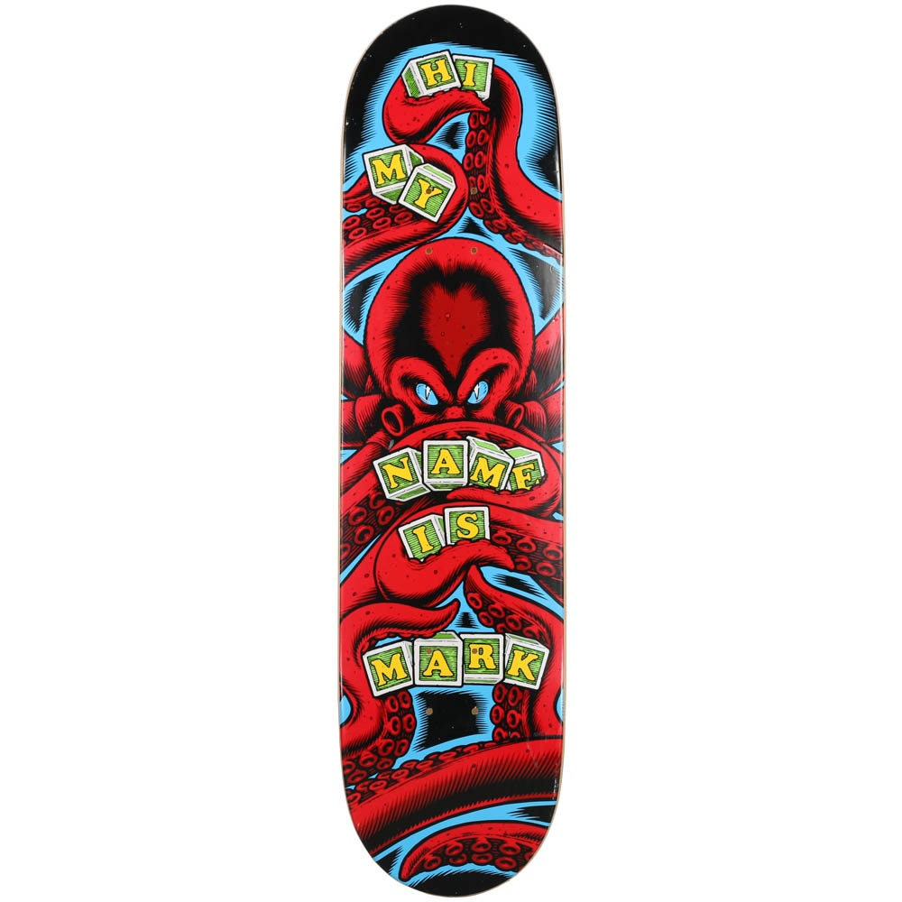 """Hi My Name Is Mark"" Skate Deck Signed by Sean Cliver"