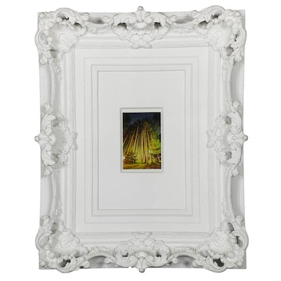 """Marble and Resin Cast """"My Brother's Frame"""" by Harry Allen"""