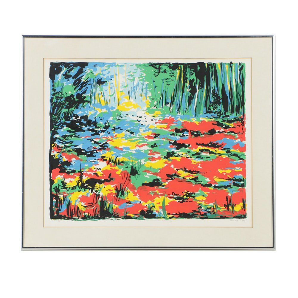 """Limited Edition Serigraph on Paper """"Summer Morning"""""""