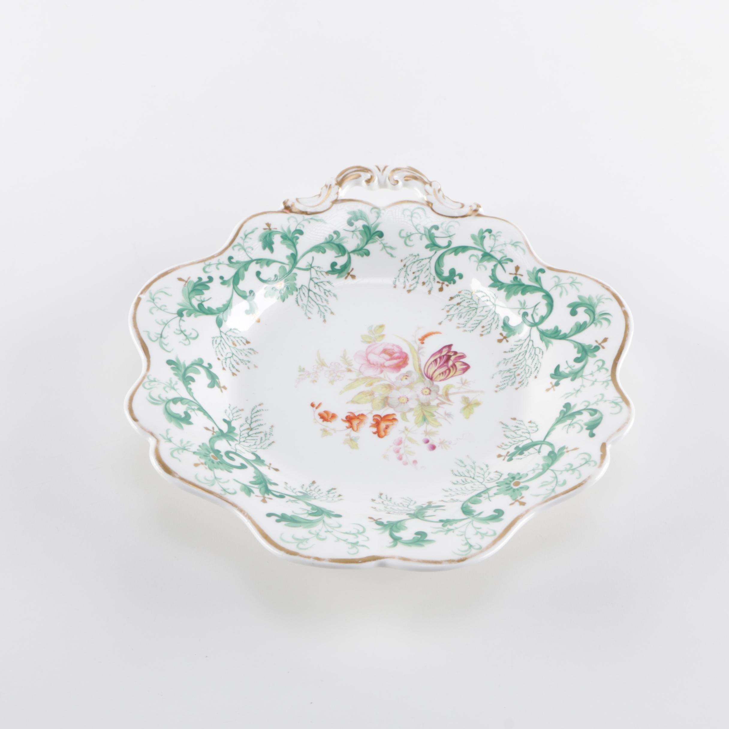 Decorative Hand Painted China Plate