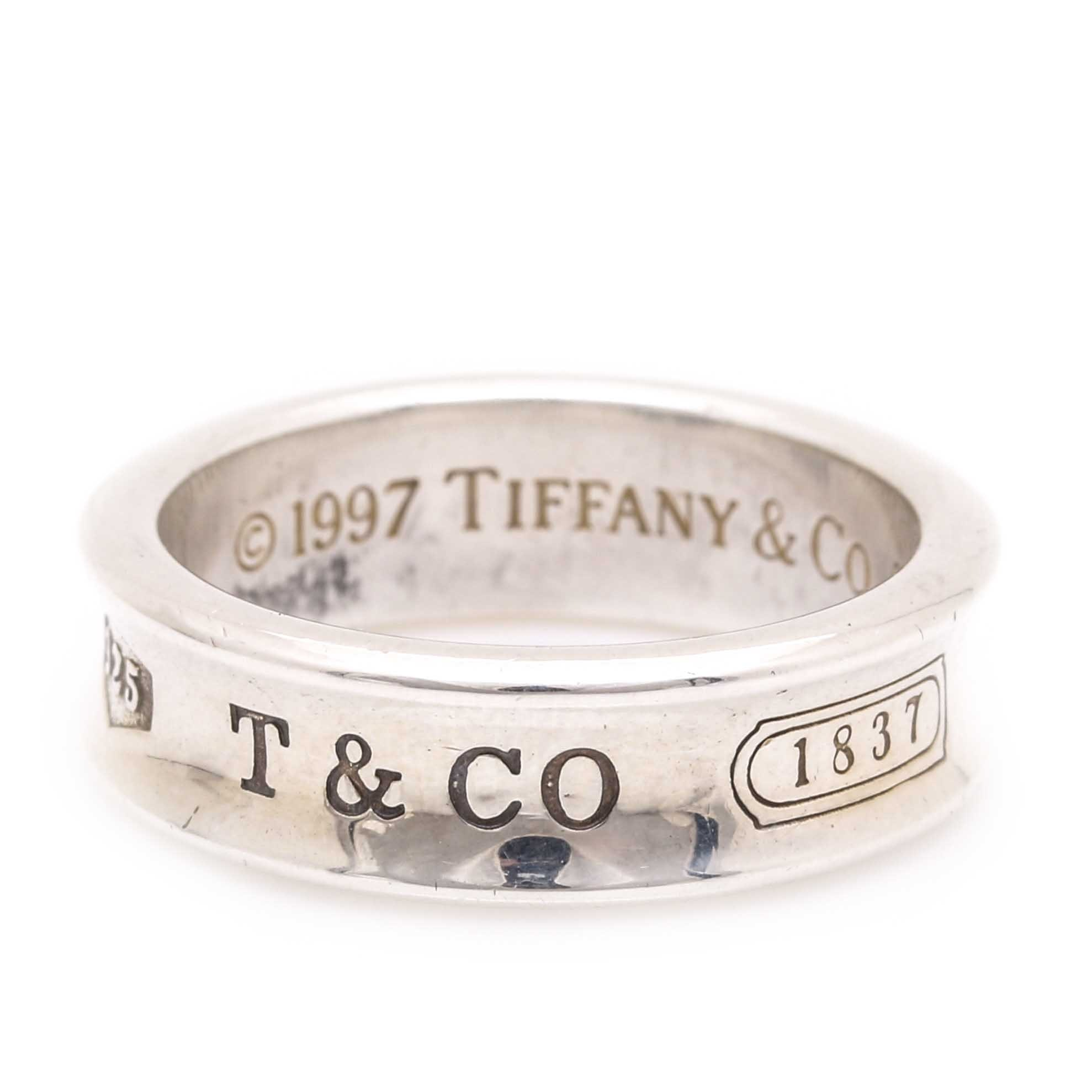 Sterling Silver Tiffany & Co Ring