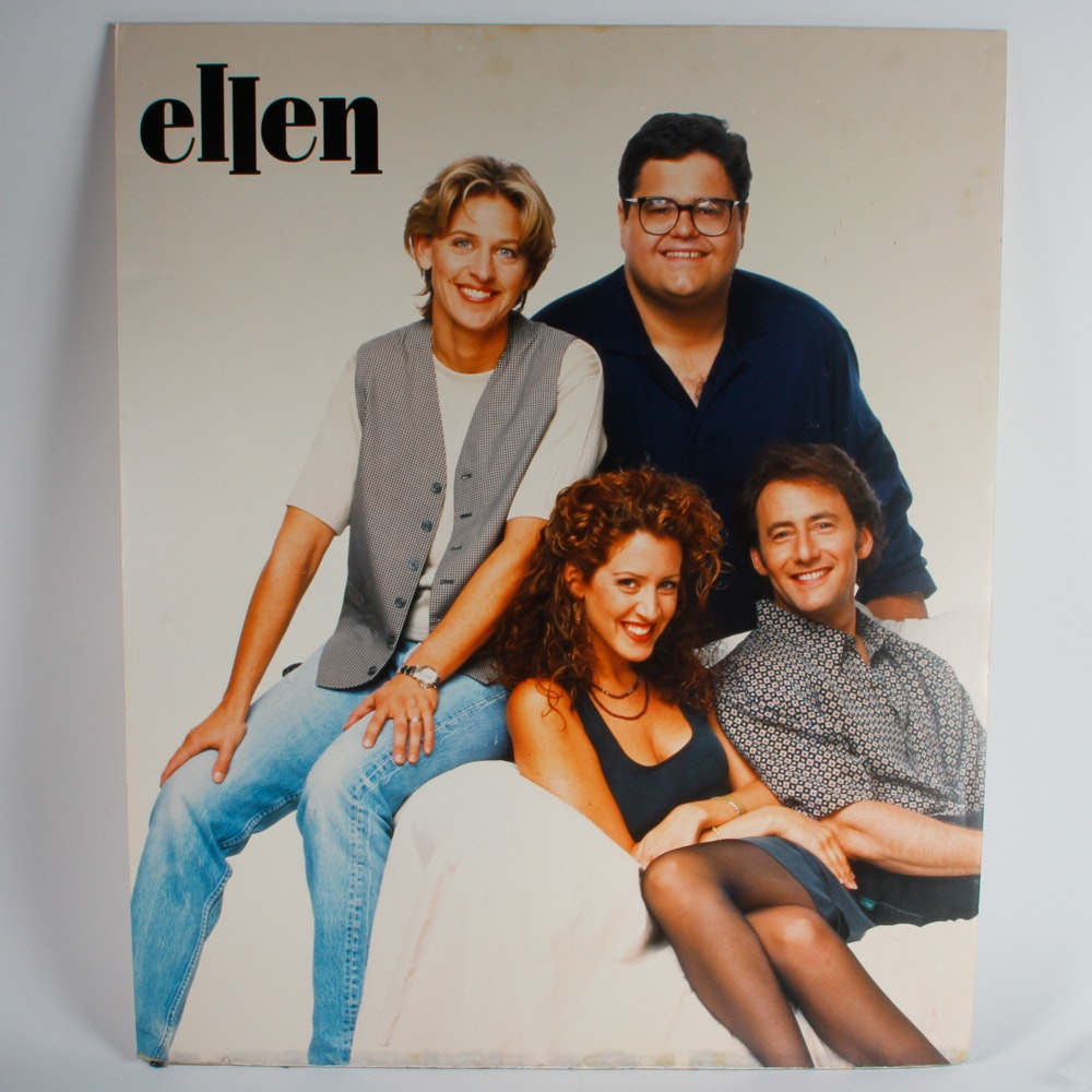 """Ellen""Poster Autographed by Joely Fisher"