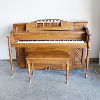 Story & Clark Console Piano and Bench