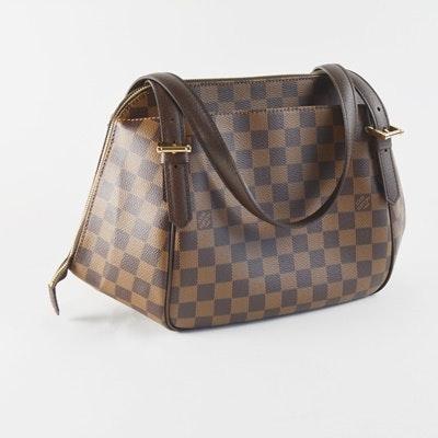 Louis Vuitton Damier Ebene Canvas Belem Handbag