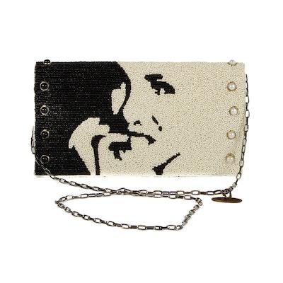 """Mary Frances """"Some Like It Hot""""  Beaded Handbag"""