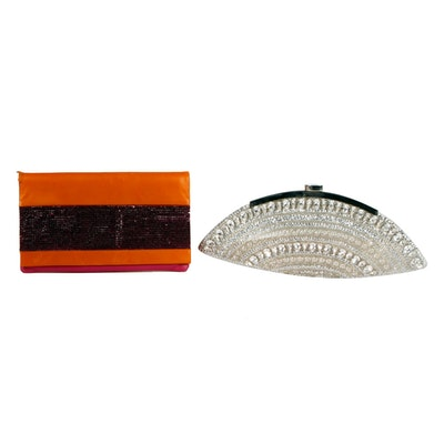 Georges Hobeika and Daniel Swarovski Clutches