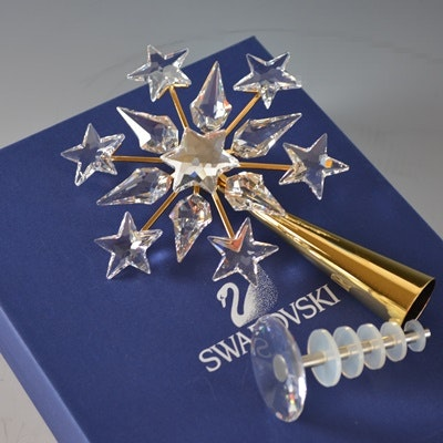 Swarovski 2004 Crystal Tree Topper Star