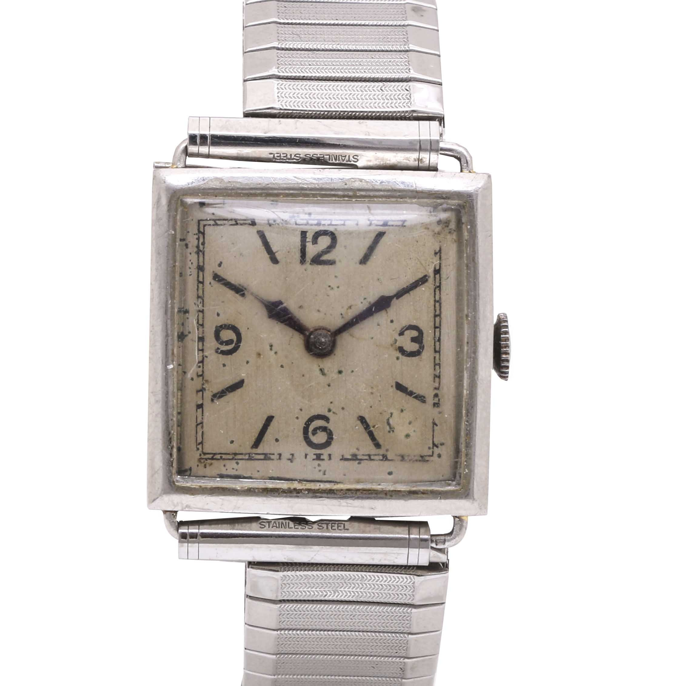 Platinum Expansion Wristwatch