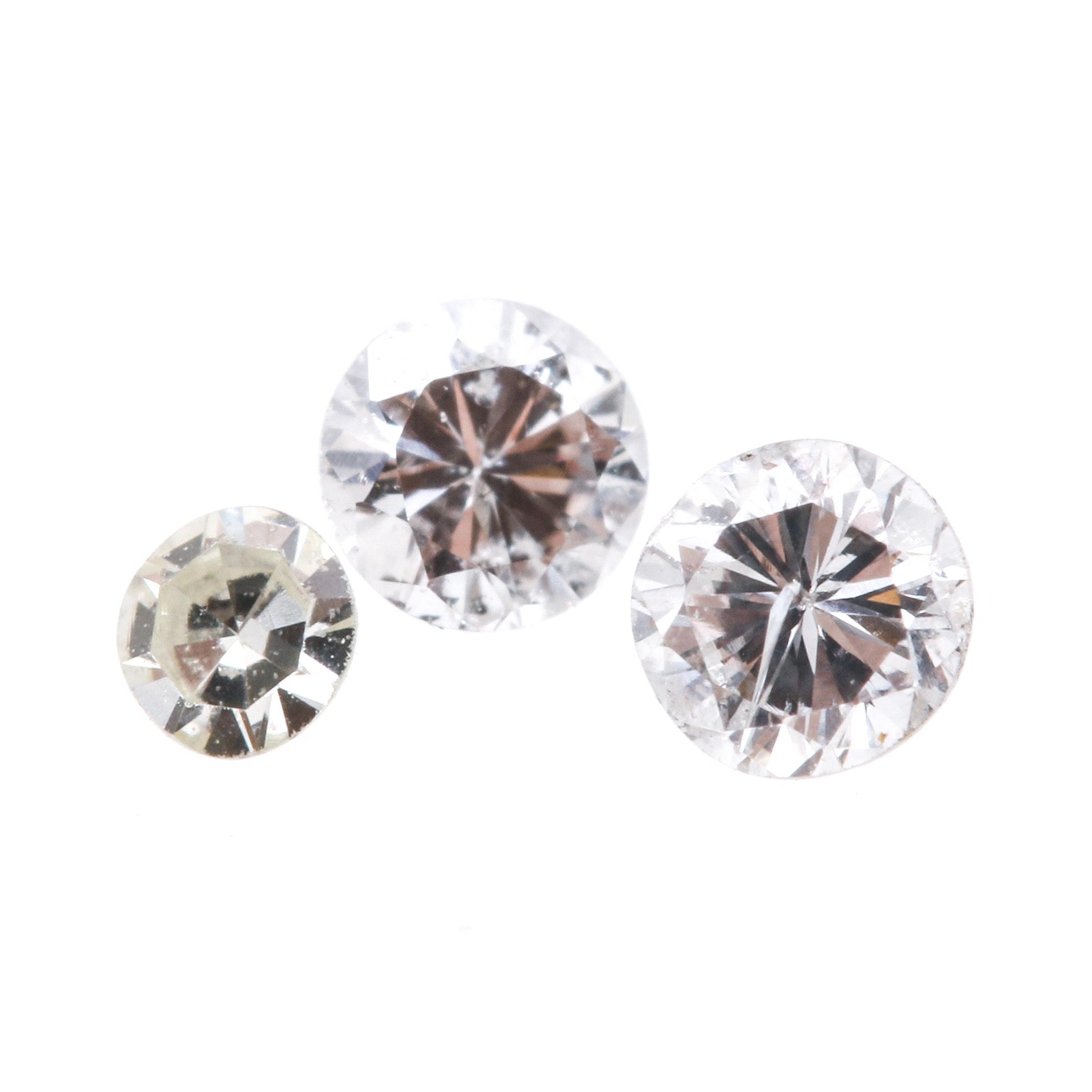 Assortment of Loose Diamond Stones