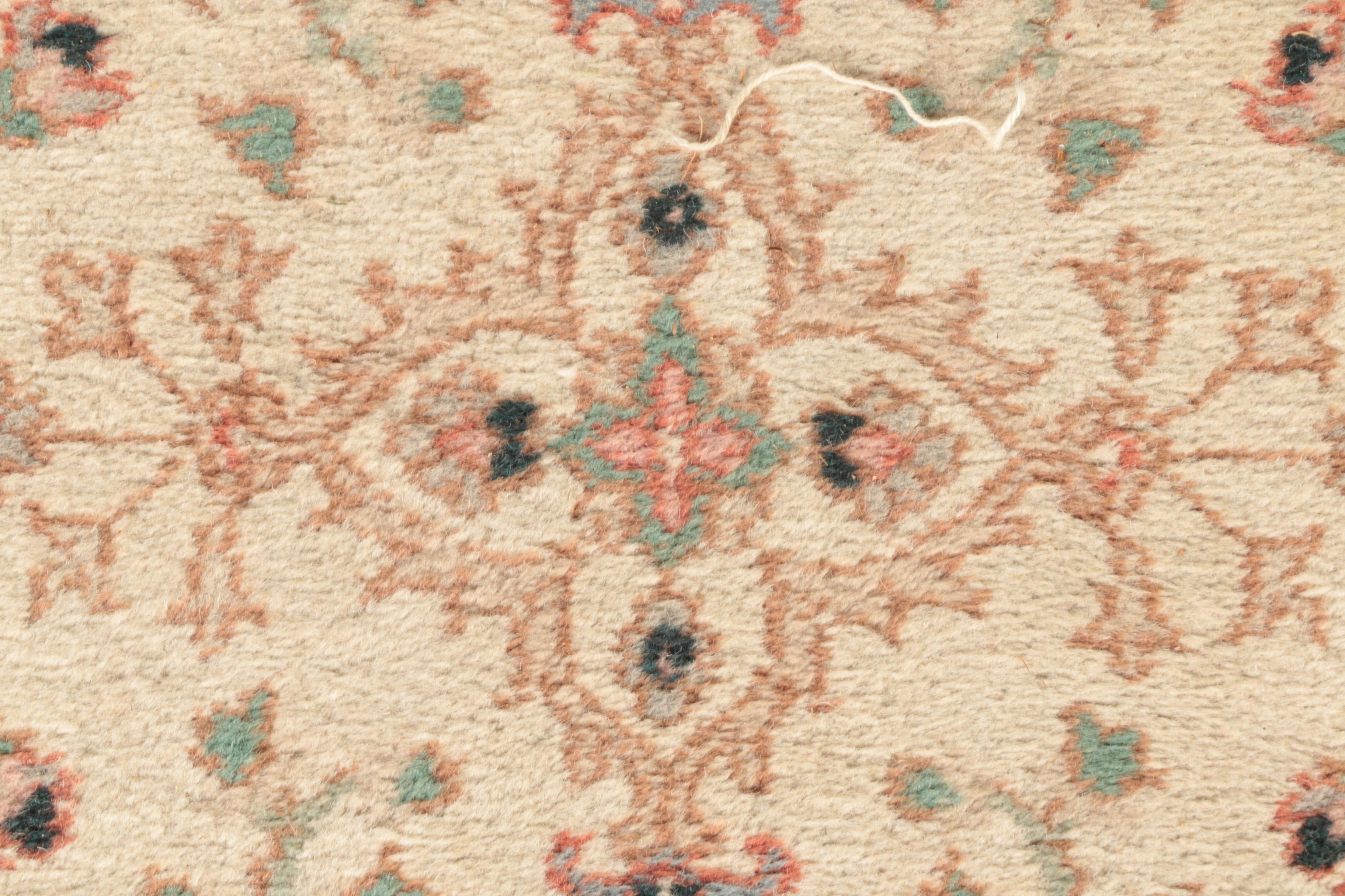 Hand Knotted Newton Indo Persian Carpet Runner Ebth