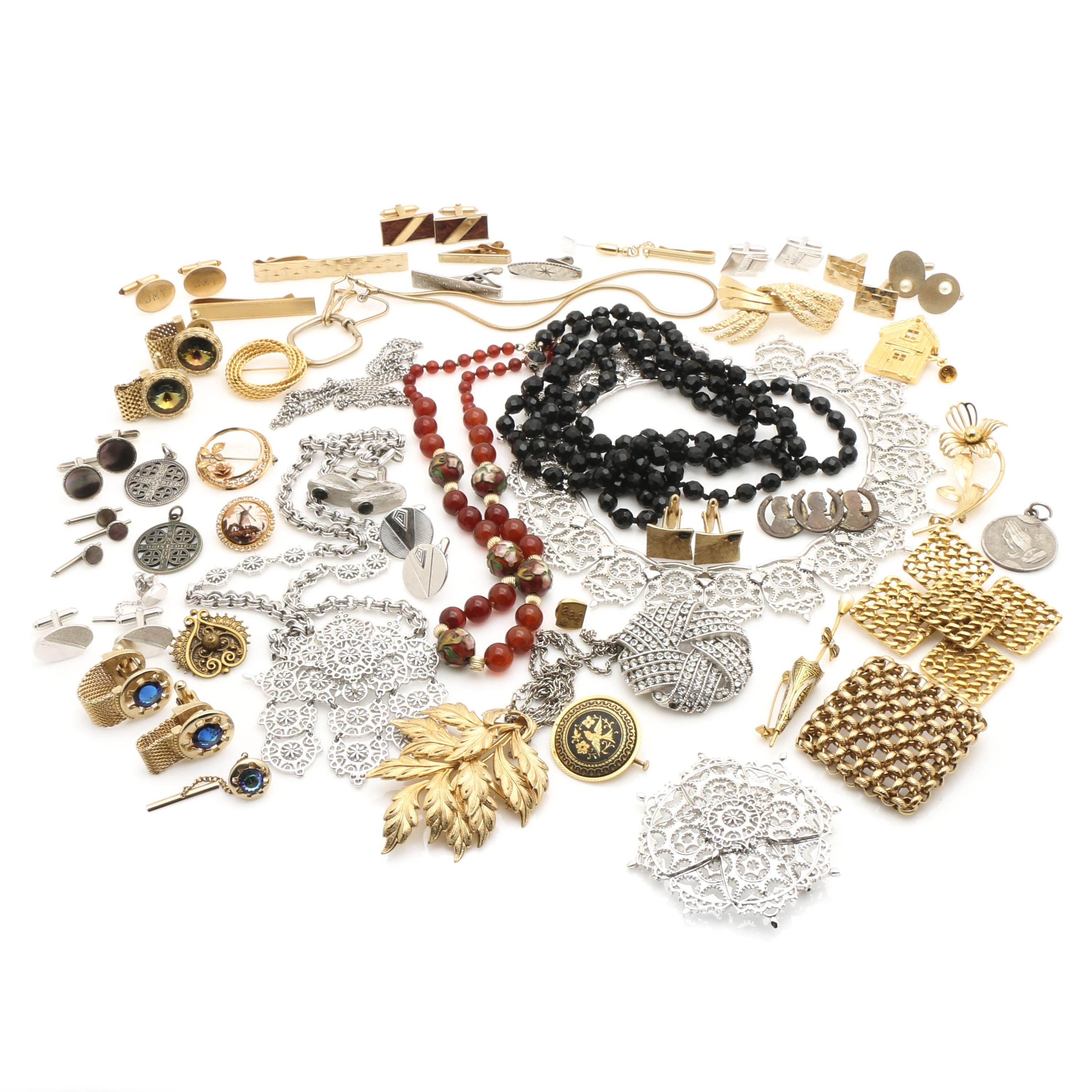 Women's and Men's Costume Jewelry Assortment