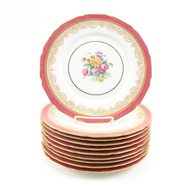 La Cloche Limoges Dinner Plates