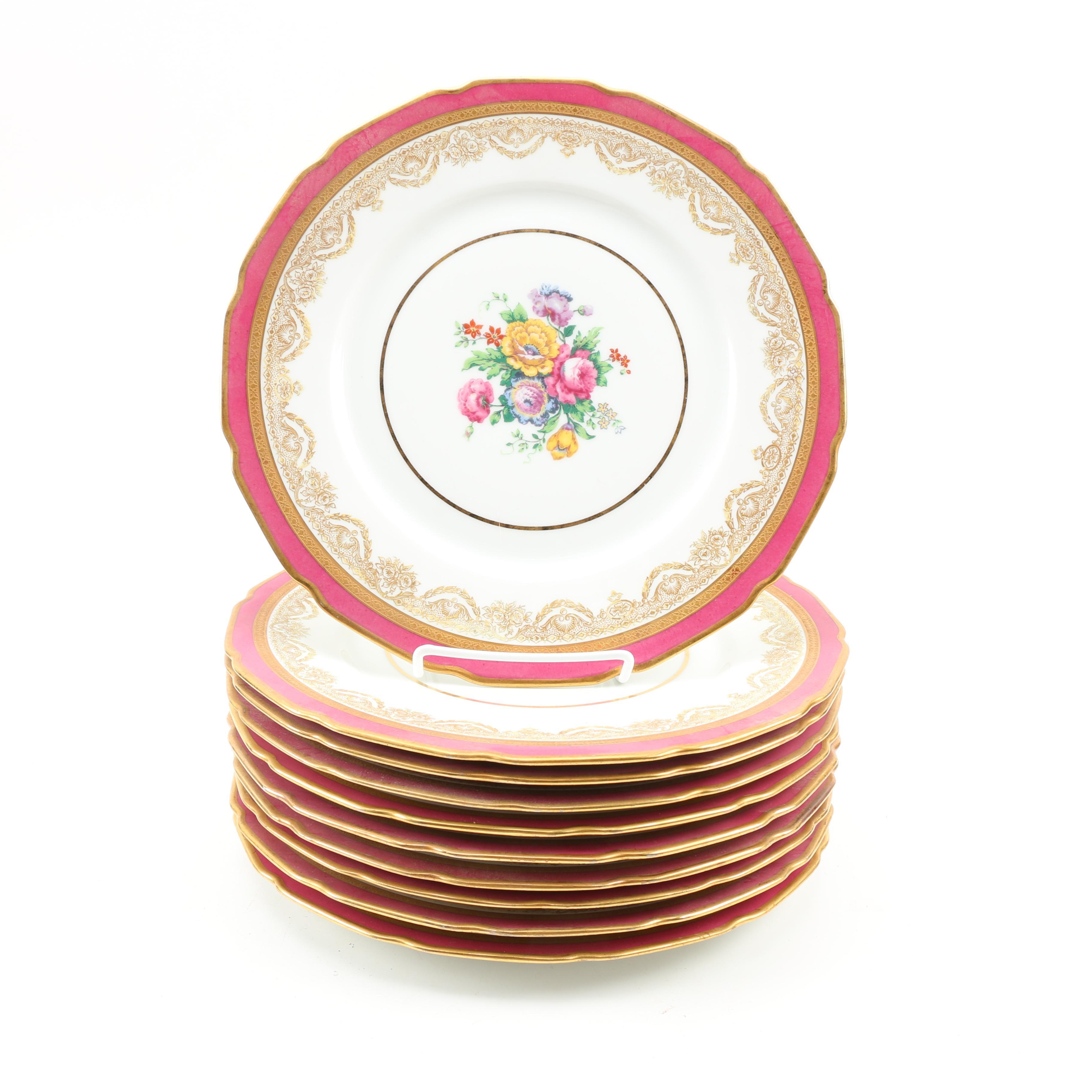 La Cloche Limoges Dinner Plates ...  sc 1 st  EBTH.com & La Cloche Limoges Dinner Plates : EBTH