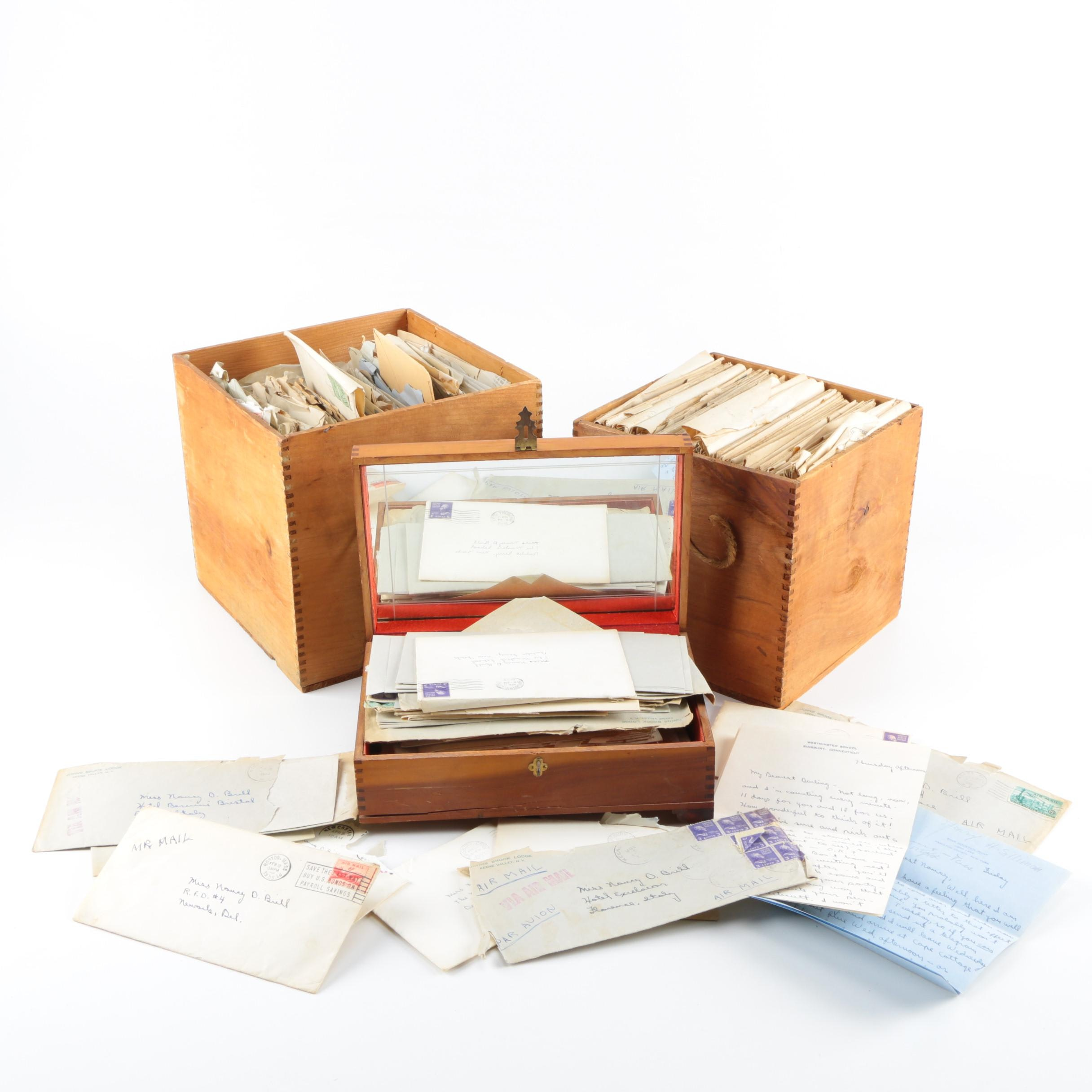 Archive of Vintage Family Correspondence