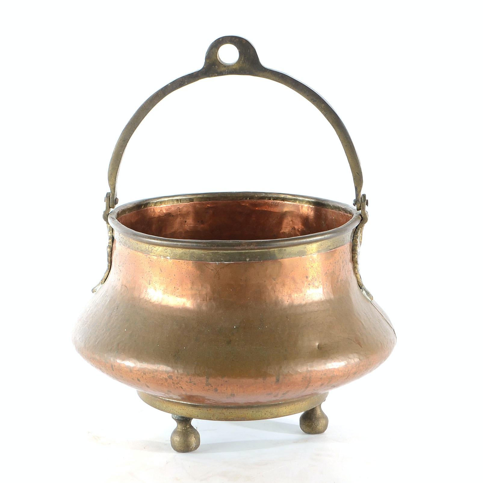 Antique Copper Pot