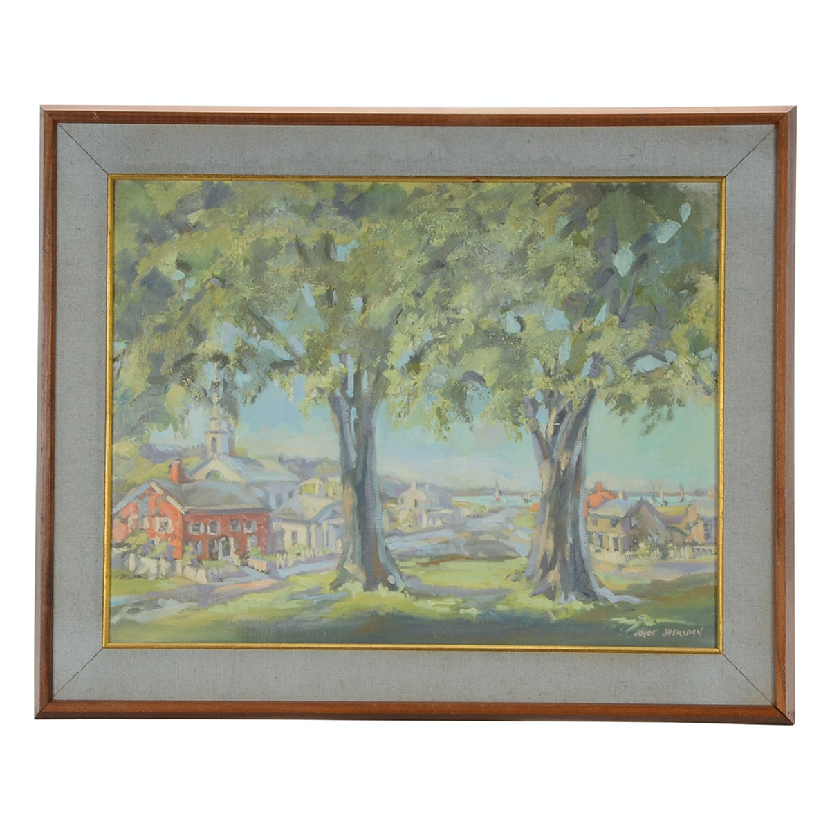 Joyce Sheridan Original Oil Landscape on Canvas