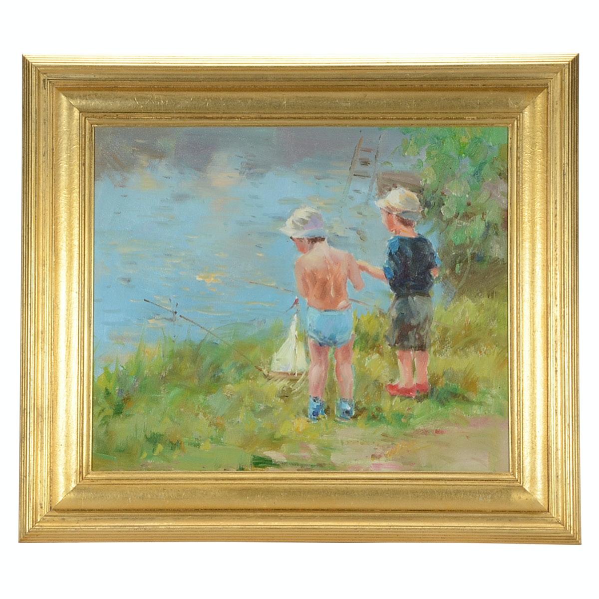 Original Contemporary Oil on Canvas