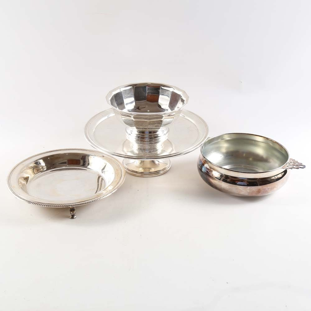 Collection of Silver Plated Tableware
