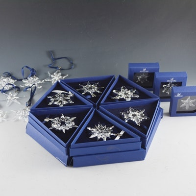 Swarovski Crystal Snowflake Collection