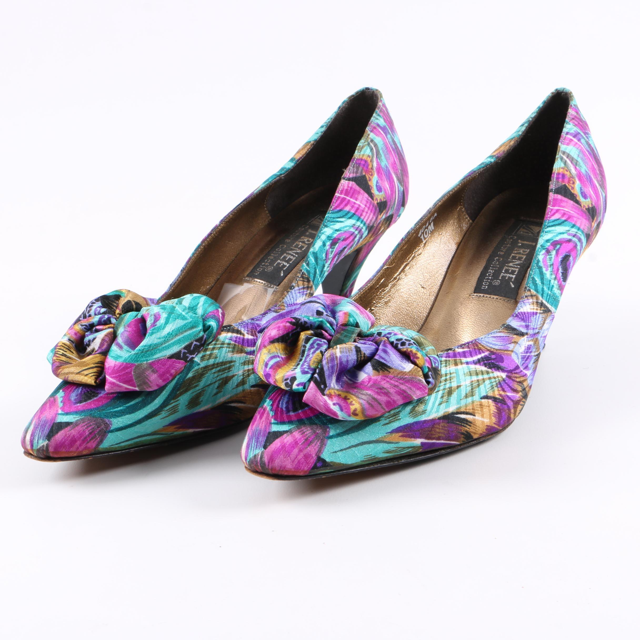 J. Renee Patterned Heels