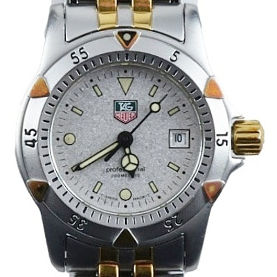TAG Heuer Professional 1500 Watch with Two Tone Bracelet