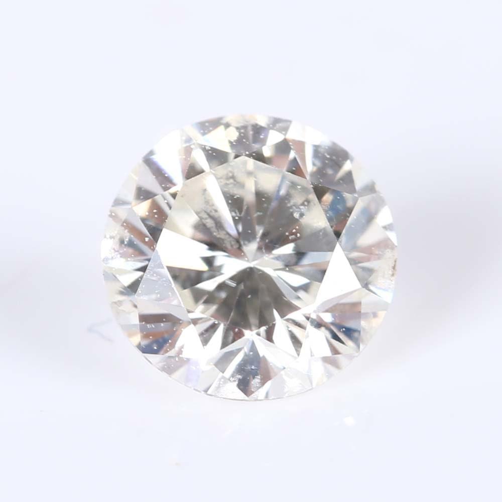 0.74 Carat Loose Round Diamond