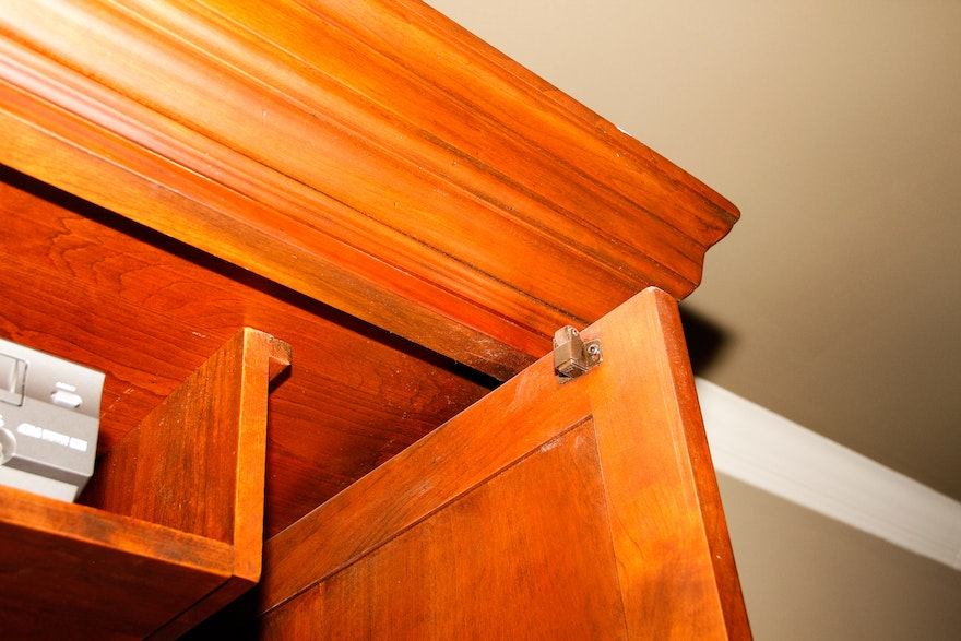 Wooden Television Armoire by Bob Timberlake | EBTH