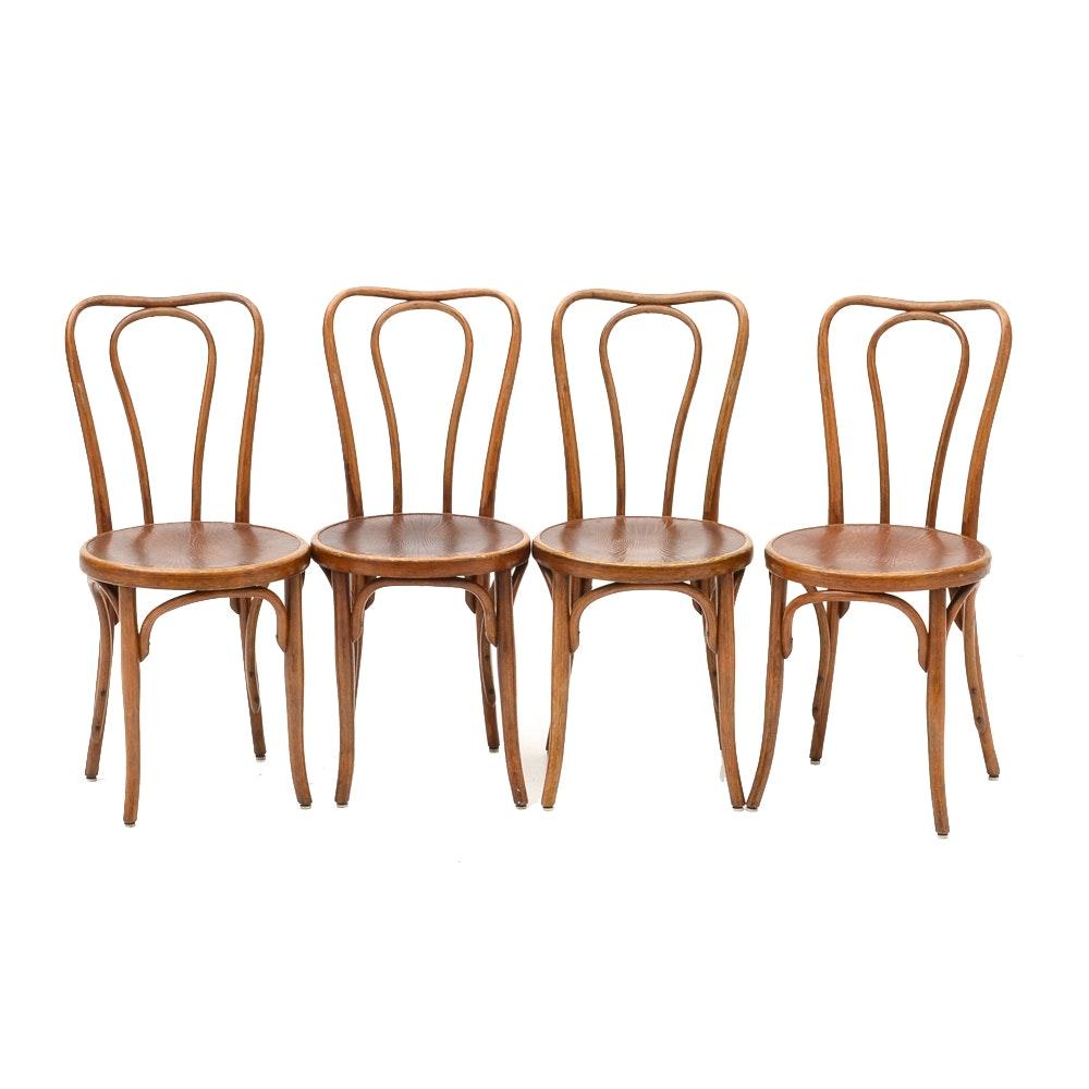 Set of Antique Jacob & Josef Kohn Bentwood Chairs
