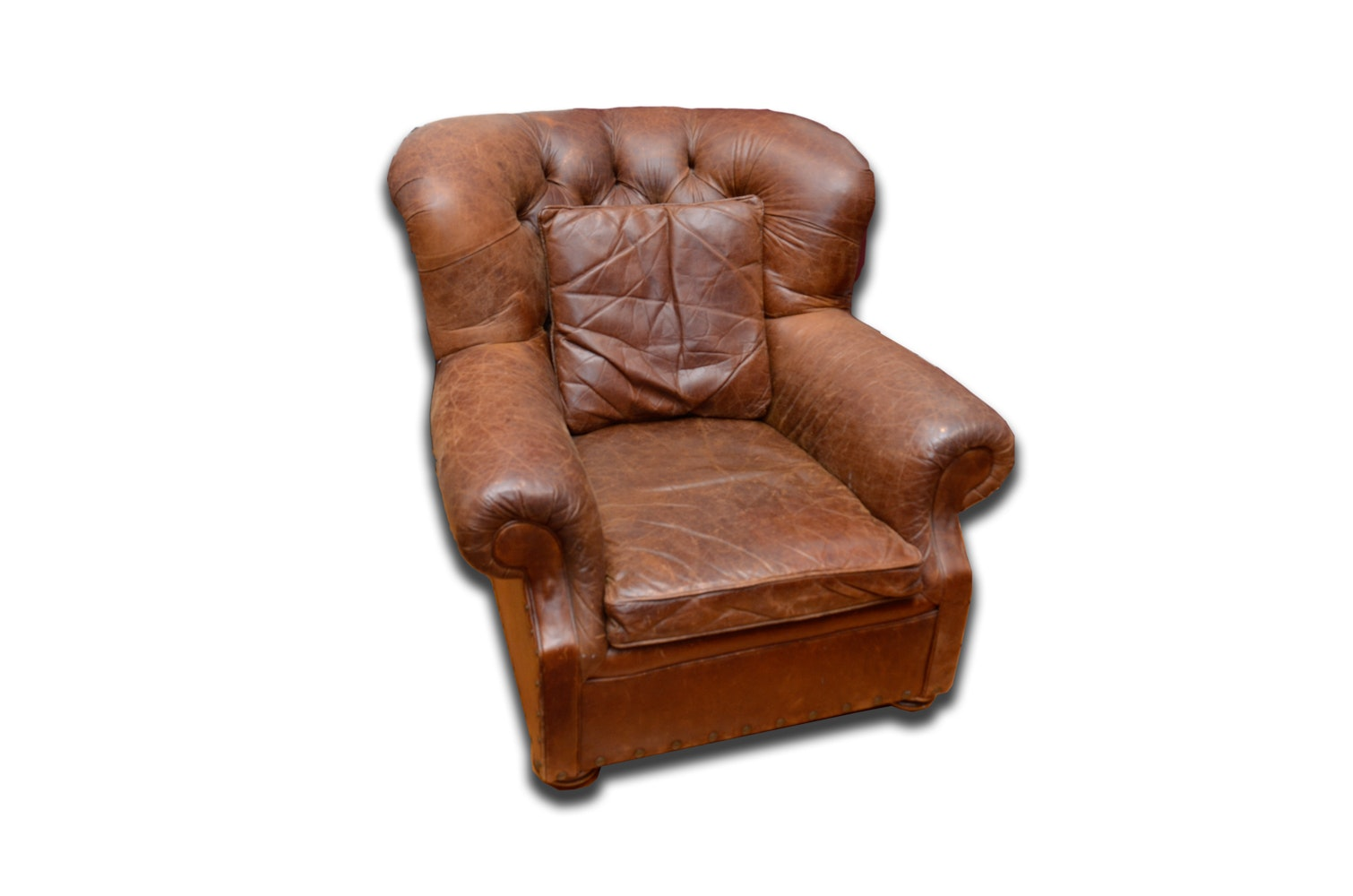 Leather Club Chair By Mitchell Gold ...